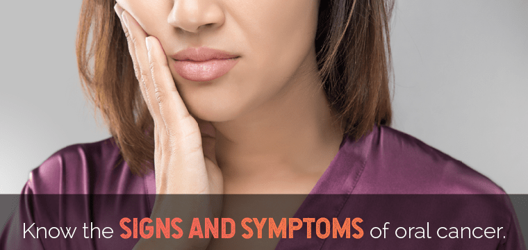 mouth cancer signs and symptoms