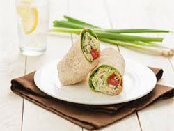 Olive-Oil-Tuna-Salad-Wrap