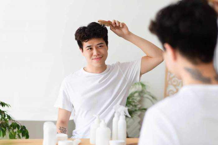 Collagen benefit for men-thick-healthy-hair-beautiful-stylish